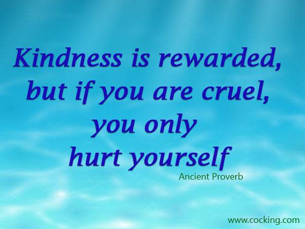 Kindness is Its Own Reward