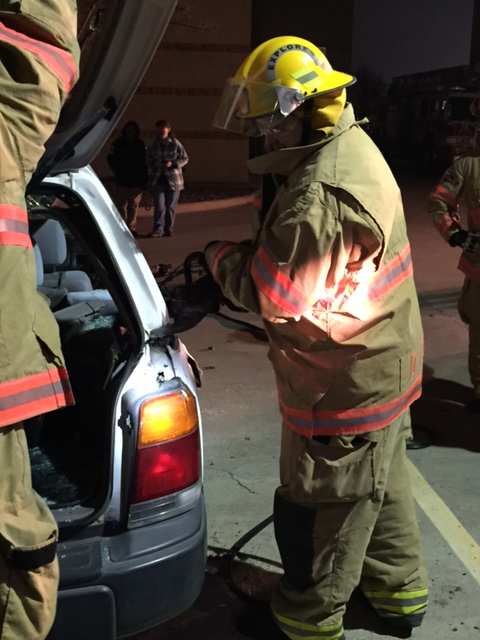 Allen Citizen Fire Academy – Extrication Night