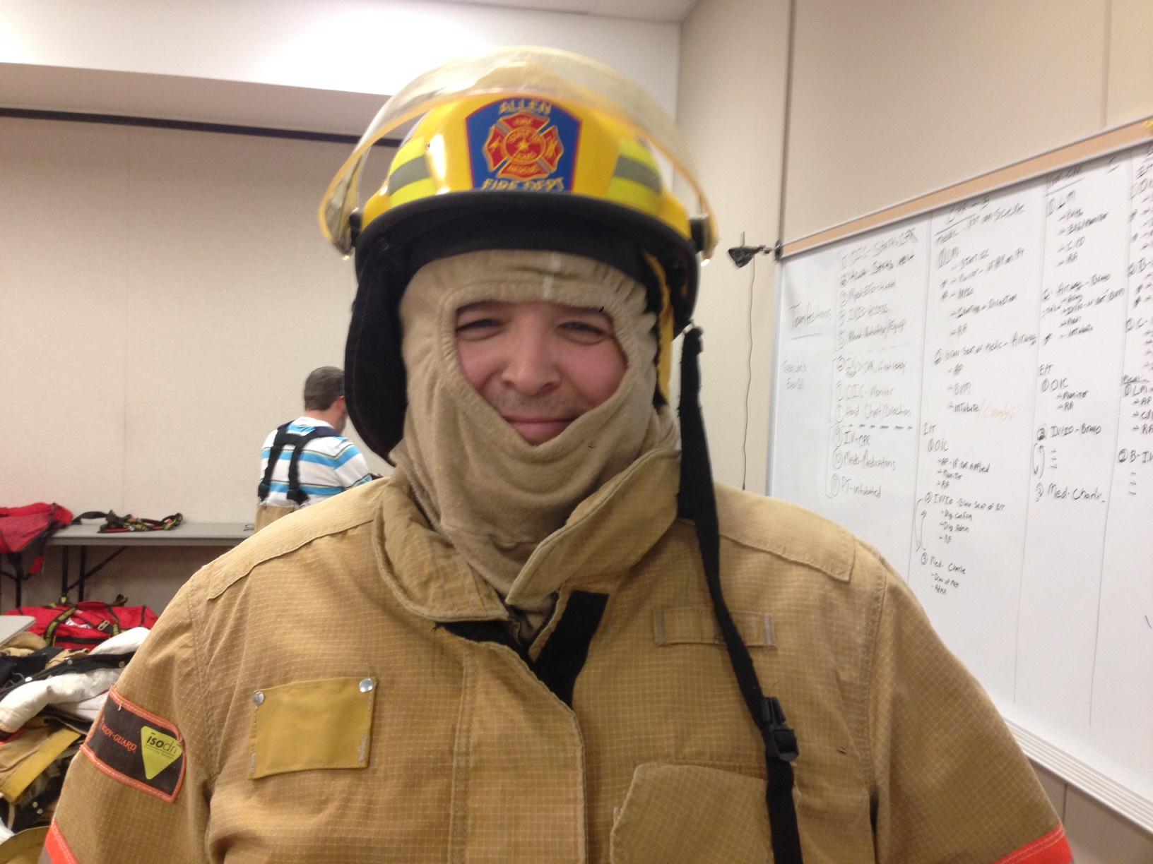 Allen Citizen's Fire Academy – Bunker Gear Night